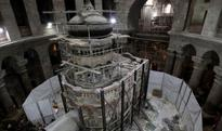 Researchers make miraculous discovery as 'Christ's tomb' is opened after 500 years