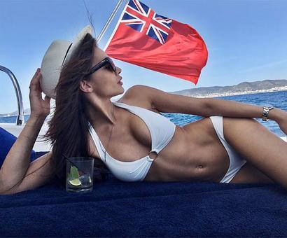 Amy Jackson holidays in Ibiza!