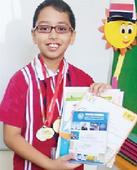 Yash from Vibgyor School shines in Maths Olympiad