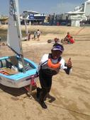 Young sailor Fauzi makes big splash in world meet with a bronze