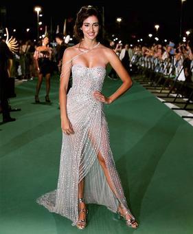 Who rocked the sheer dress better: Disha or Bella?