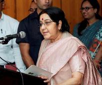 Modi advised Suu Kyi not to 'destroy' her image: Sushma Swaraj
