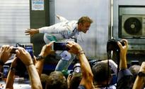 Rosberg triumphs in Singapore