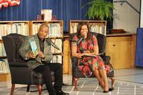 Michelle Obama Hosts Storytime Visit At Thayer Elementary School