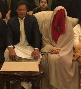Cricketer-turned-politician Imran Khan ties the knot for a third time