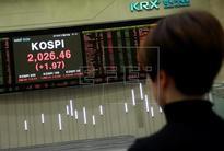 Seoul Stock Exchange kicks off 2017 with 0.11 percent drop