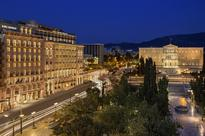 Hotel Grande Bretagne & King George in Athens to spend an hour in the dark for Earth Hour 2016