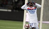 Lyon's Lacazette out for three weeks