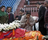 Sushma Swaraj pays homage to Sushil Koirala, offers ...