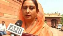 AAP practices cheap politics, says Harsimrat