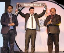 In Pics: Virat Kohli's fan moment with football legend Luis Figo
