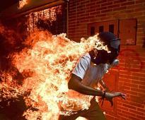 Venezuelan photojournalist Ronaldo Schemidt wins World Press Photo Contest