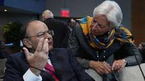 Worried about low productivity in advanced economies: Arun Jaitley at annual meetings of IMF and World Bank