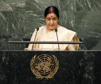 Will Sushma's speech at the UNGA give fresh push to anti-terror convention?