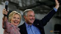 Hillary Clinton picks Senator Tim Kaine for running mate: Official