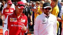 Alonso backs Vettel to challenge Mercedes