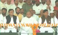 Mahabharata Karna momemt for Akhilesh Yadav? SP's 'Vikas Rath' breaks down barely 1 km down the road