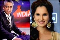 When Rajdeep Sardesai apologised to Sania Mirza...