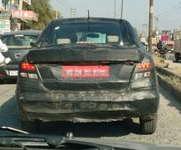 New Maruti Suzuki Dzire spotted with LED taillamps; launch in 2017