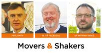 Movers & Shakers: Paul Smith, Peter Fidler CBE and Dr Anthony Radice