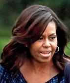 Michelle says adult needed in White House