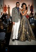 Designer B Michael Partnered with Macy's to Present Debut Runway Fashion Show at the NAACP Image Awards Luncheon