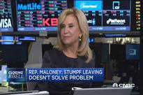 Stumpf's departure a step in the right direction, but not enough, Rep. Maloney says