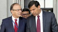 Jaitley, Rajan to discuss fiscal development, economy on Tuesday