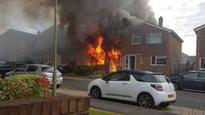 House in Wantage gutted by tumble dryer fire