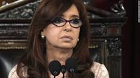 Argentina's former president Kirchner charged for manipulating economy