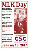 CSC plans to celebrate MLK Day