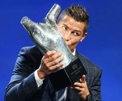 PHOTOS: Ronaldo is UEFA's 2015-16 'Best Player in Europe'