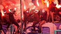 IFK Goteborg vs. Malmo abandoned after firework, corner flag thrown