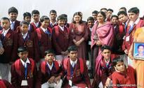 Maneka Sanjay Gandhi Felicitates Bravery Award Winners