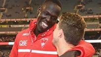 AFL: Sydney Swans defender Aliir Aliir to undergo knee scans