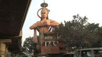 Delhi HC asks authorities to 'airlift' the 108-foot Hanuman statue in Karol Bagh to remove encroachments around it