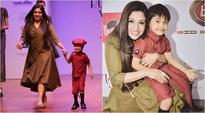 India Runway Week: 5-year-old battling Down syndrome turns showstopper for designer Varija Bajaj