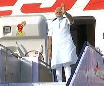 PM Modi leaves for three-nation tour