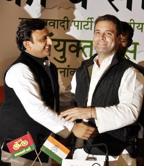 UP polls: BJP attacks 'shehzaadey' Rahul Gandhi, Akhilesh Yadav