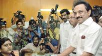 MK Stalin, Captain Vijayakanth file their papers
