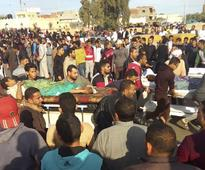 305 worshippers killed in mosque in Egypt's deadliest terror attack