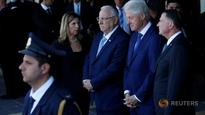 Clinton joins Israel in paying last respects to Peres