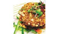 The mouth-watering chapli kebab