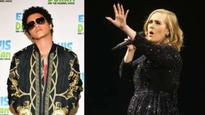 Music News LIVE: Bruno Mars on 'diva' Adele