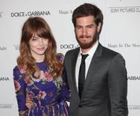 Emma Stone reunites with Andrew Garfield in London