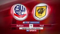 Relegated Bolton stun Hull