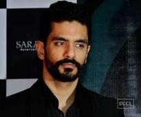 Angad Bedi is now in the shoes of Amitabh Bachchan, literally