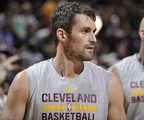 Kevin Love, he of the 34-point quarter, does not regret his five-year deal