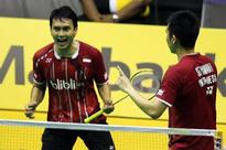Ahsan-Hendra eyeing title defence despite challenges