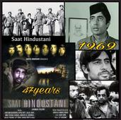 WOW! Amitabh Bachchan completes 47 years in the film industry